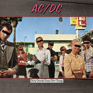 AC/DC ‎– Dirty Deeds Done Dirt Cheap /  Columbia