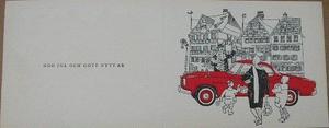 1960 Borgward Isabella Coupé julkort