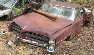 1966 Pontiac Catalina 4-door Sedan i delar