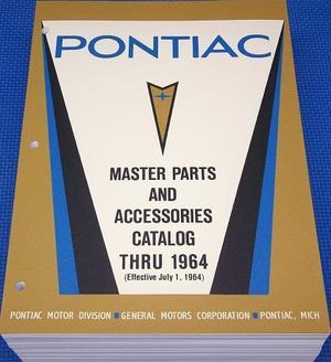 1964 Pontiac Master Parts Catalog 1960 - 1964