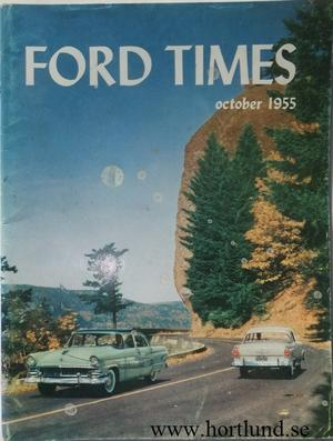 1955 Ford Times october