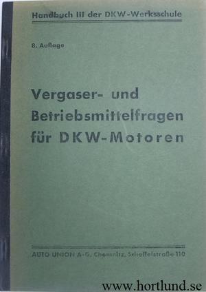 1936 DKW förgasare