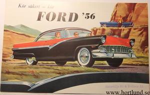 1956 Ford broschyr svensk