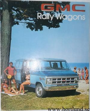 1978 GMC Rally Wagons Broschyr