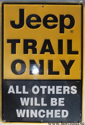 Jeep Trail Only