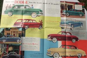 1952 Dodge broschyr DMA-7800