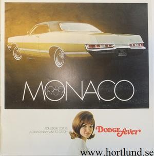 1969 Dodge Monaco broschyr