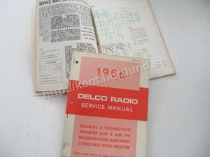 1966 Delco Radio Service Manual