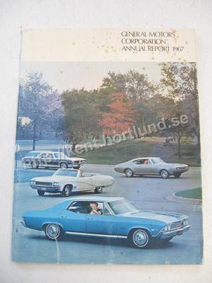 1967 General Motors Corporation Annual Report 1967