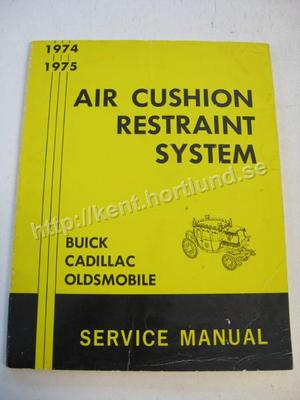1974-1975  Fisher Air Cushion Restraint System Service Manual