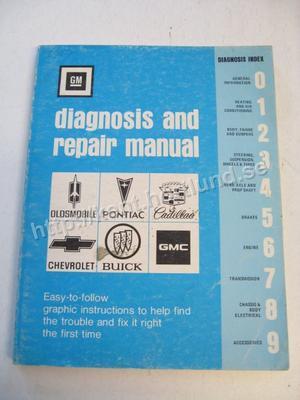 1977 GM Diagnosis and Repair Manual