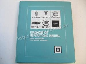 1977 Diagnose och Reparations Manual Danska Dansk DK