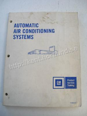 1980 GM Product Service Training Automatic Air Conditioning Systems