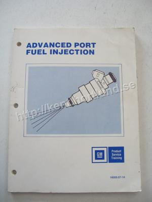 1986 GM Product Service Training Advanced Port Fule Injection