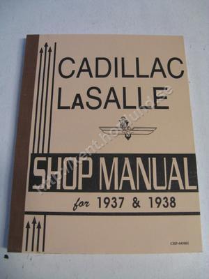 1937 Cadillac and La Salle  Shop manual