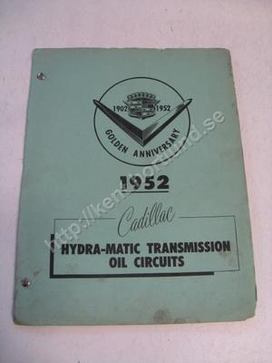 1952 Cadillac Hydra-matic transmission oil circuits