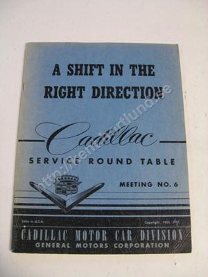 1955 Cadillac Service round table no. 6