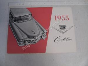 1955 Cadillac broschyr svensk