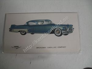 1957 Cadillac 60-Special Försäljningsbroschyr
