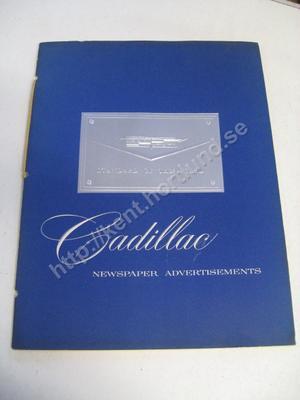 1958 Cadillac Newspaper Advertisements