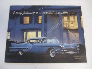1958 Cadillac broschyr Every journey is ...
