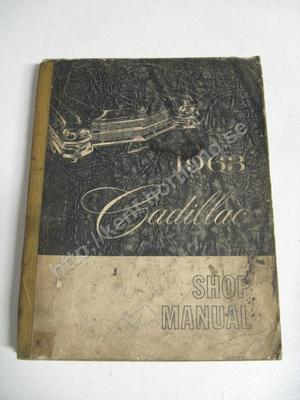 1963 Cadillac Shop manual original