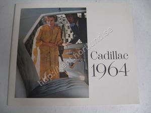 1964 Cadillac Broschyr