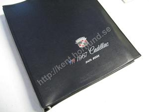 1967 Cadillac Data Book