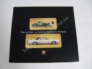 1975 Cadillac Försäljningsbroschyr