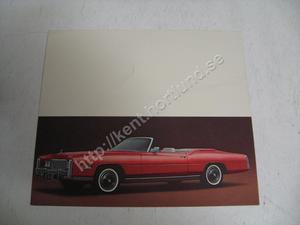1976 Cadillac color print