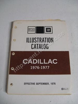 1976-77 Cadillac Illustration Catalog