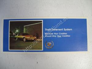 1980 Cadillac Försäljningsbroschyr