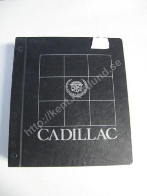 1983 Cadillac Service information