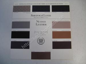 1994 Cadillac Deville & deville concours fabric & leather selections