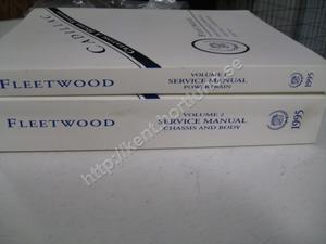 1995 Cadillac Fleetwood Service manual 2 book set
