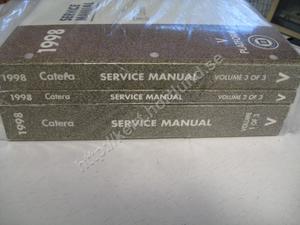 1998 Cadillac Catera Service manual 3 book set