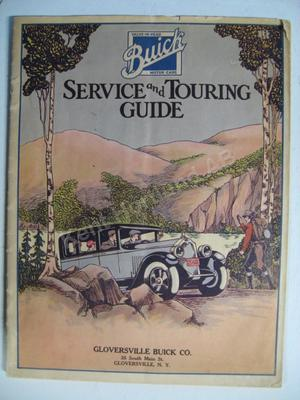 1929 Buick Service and touring guide