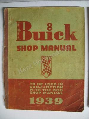 1939 Buick Shop Manual