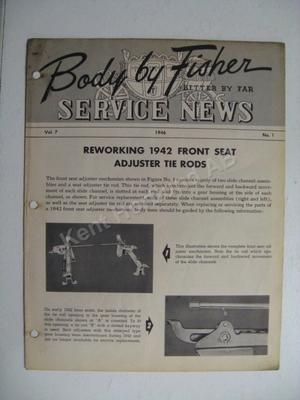 1946 Fisher Service News Vol.7 No.1