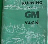 1957 GM Skötsel och körning av Eder GM Vagn 12-56