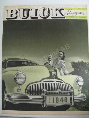 1946 Buick Magazine  Volume 8 number 1