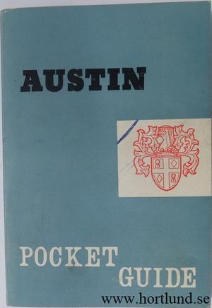 1961 Austin Pocket Guide
