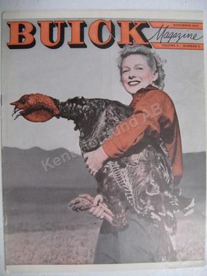 1947 Buick Magasine  Volume 9 number 5