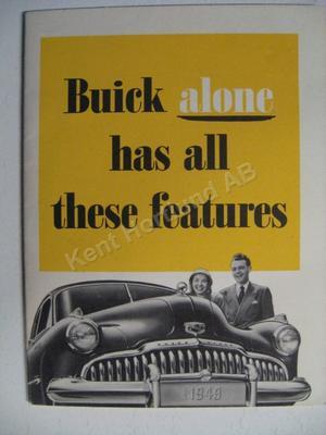 1949 Buick Brochure