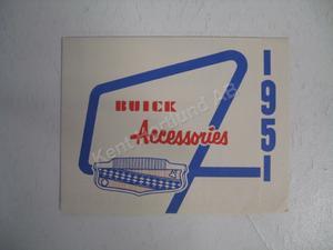 1951 Buick försäljningsbroschyr
