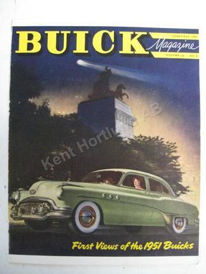 1951 Buick Magasine  Volume 12 number 8