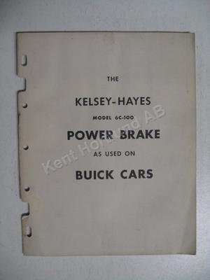 1953 Buick Kelsey Hayes Power Brakes