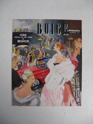 1955 Buick magazine november 1954