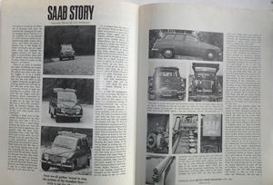 1969 SAAB 96 V4 broschyr Motor Trend