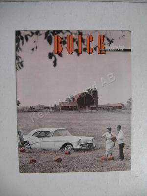 1957 Buick magazine september - october 1957